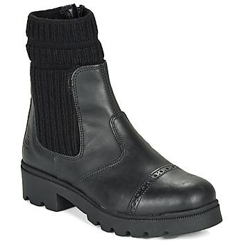 Pantofi Fete Ghete Citrouille et Compagnie LOBINOUTE Negru