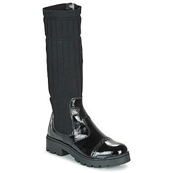 Pantofi Fete Ghete Citrouille et Compagnie LAPADOU Negru