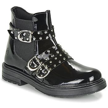 Pantofi Fete Ghete Citrouille et Compagnie LIRONDEL Negru