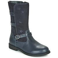 Pantofi Fete Cizme casual Citrouille et Compagnie HANDRE Bleumarin