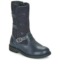 Pantofi Fete Cizme casual Citrouille et Compagnie HANDRE Albastru