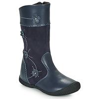 Pantofi Fete Cizme casual Citrouille et Compagnie AMATIS Albastru