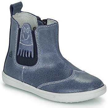 Pantofi Băieți Ghete Citrouille et Compagnie LESKIMO Albastru