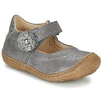 Pantofi Fete Balerin și Balerini cu curea Citrouille et Compagnie LASKIMA Gri