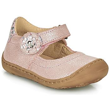 Pantofi Fete Balerin și Balerini cu curea Citrouille et Compagnie LASKIMA Roz