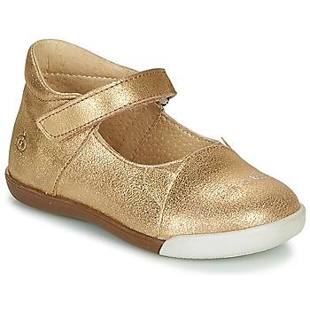 Pantofi Fete Balerin și Balerini cu curea Citrouille et Compagnie LAKALA Auriu