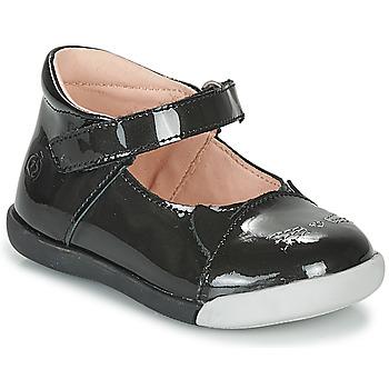 Pantofi Fete Balerin și Balerini cu curea Citrouille et Compagnie LAKALA Negru