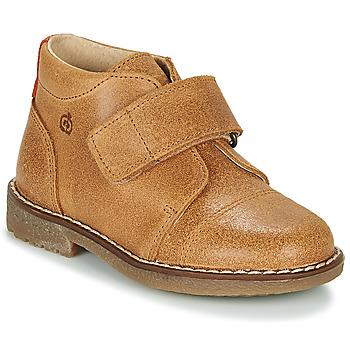 Pantofi Băieți Ghete Citrouille et Compagnie LAPUPI Camel