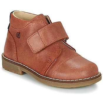 Pantofi Băieți Ghete Citrouille et Compagnie LAPUPI Maro