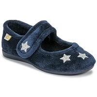 Pantofi Fete Papuci de casă Citrouille et Compagnie LAFIFOU Bleumarin