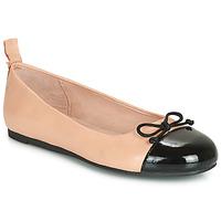 Pantofi Fete Balerin și Balerini cu curea Citrouille et Compagnie LIOGE Nude / Negru