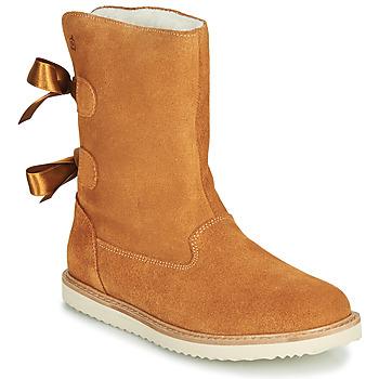 Pantofi Fete Ghete Citrouille et Compagnie LILINA Camel
