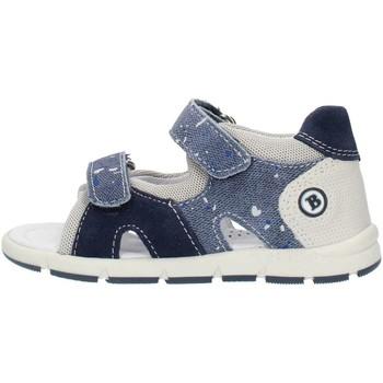 Pantofi Băieți Sandale  Balocchi 493133 Blue and gray