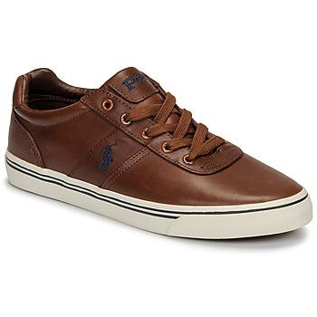 Pantofi Bărbați Pantofi sport Casual Polo Ralph Lauren HANFORD Coniac