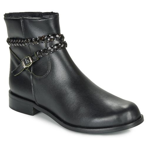 Pantofi Femei Ghete So Size OSCARDO Negru