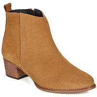 Pantofi Femei Ghete So Size MARTINO Camel