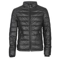 Îmbracaminte Bărbați Jachete din piele și material sintetic Guess STRETCH PU QUILTED Negru