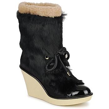 Pantofi Femei Botine Sonia Rykiel HAIRY Negru