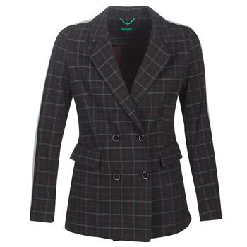 Îmbracaminte Femei Paltoane Benetton SUDIDEL Negru