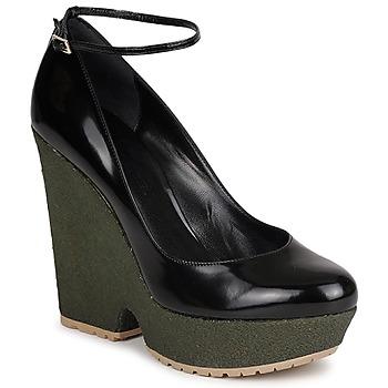Pantofi Femei Pantofi cu toc Sonia Rykiel LOCK Negru / Verde