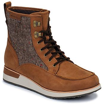 Pantofi Femei Ghete Merrell ROAM MID Maro