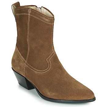 Pantofi Femei Botine Vagabond EMILY Taupe