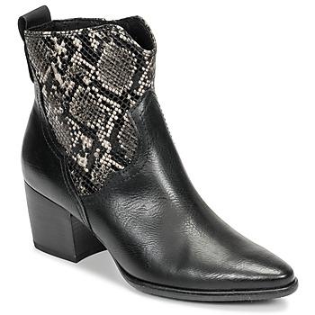 Pantofi Femei Botine Marco Tozzi  Negru