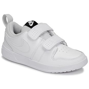 Pantofi Copii Pantofi sport Casual Nike PICO 5 PRE-SCHOOL Alb