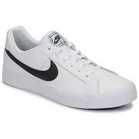 Pantofi Bărbați Pantofi sport Casual Nike COURT ROYALE AC Alb / Negru