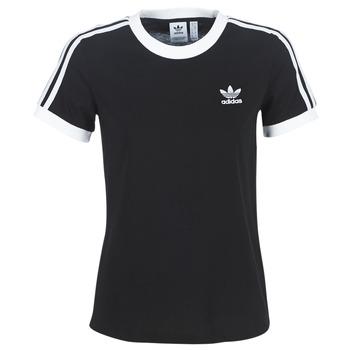 Îmbracaminte Femei Tricouri mânecă scurtă adidas Originals 3 STR TEE Negru