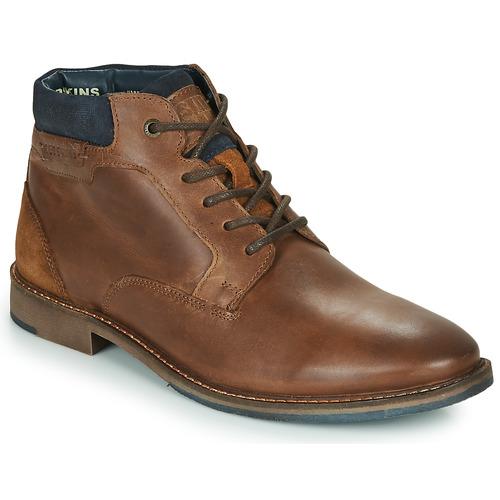 Pantofi Bărbați Ghete Redskins JAMILO Maro