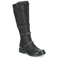 Pantofi Femei Cizme casual Mjus CAFE HIGH Negru