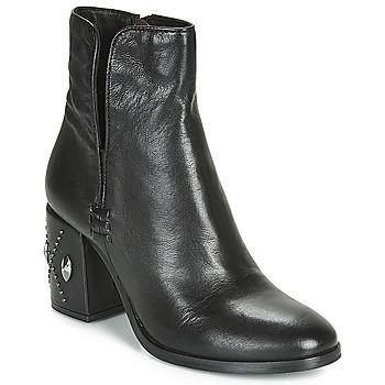 Pantofi Femei Botine Mjus TWISTER METAL Negru