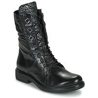 Pantofi Femei Ghete Mjus CAFE METAL Negru / Piton