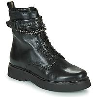 Pantofi Femei Ghete Mjus TRIPLE STRAP Negru