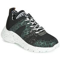Pantofi Femei Pantofi sport Casual Meline  Negru / Verde