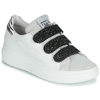 Pantofi Femei Pantofi sport Casual Meline SCRATCHO Alb / Glitter