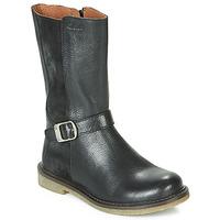 Pantofi Fete Cizme casual Aster WALI Negru