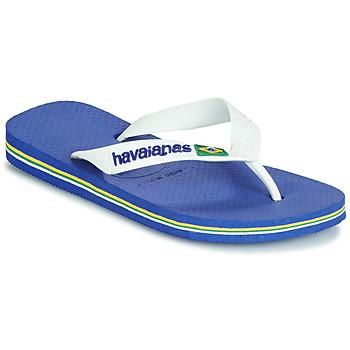 Pantofi Copii  Flip-Flops Havaianas BRASIL LOGO Bleumarin