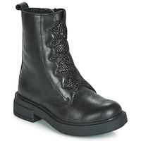 Pantofi Fete Ghete Gioseppo ABENBERG Negru