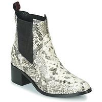 Pantofi Femei Botine Gioseppo MIKKELI Negru / Alb