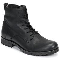 Pantofi Bărbați Ghete Jack & Jones JFW ORCA LEATHER Negru