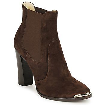 Pantofi Femei Botine Etro AMALFI Maro
