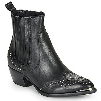 Pantofi Femei Botine Ikks BP80075-03 Negru