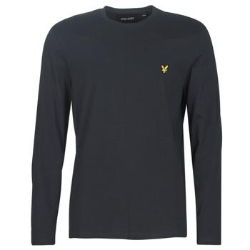 Îmbracaminte Bărbați Tricouri cu mânecă lungă  Lyle & Scott TS512V-574 Negru