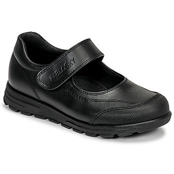 Pantofi Fete Balerin și Balerini cu curea Pablosky 334310 Negru