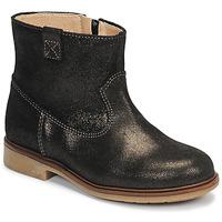 Pantofi Fete Ghete Pablosky 475157 Bronz