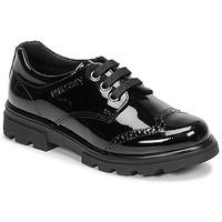 Pantofi Fete Pantofi Derby Pablosky 335419 Negru