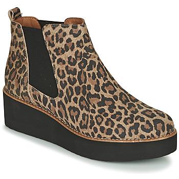 Pantofi Femei Ghete Fericelli LORNA Maro