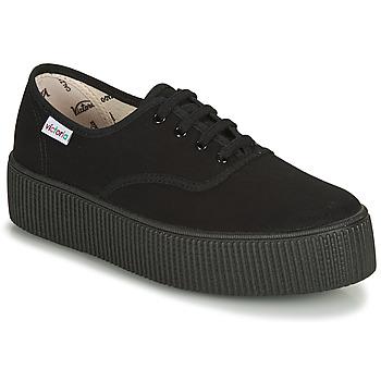 Pantofi Femei Pantofi sport Casual Victoria 1915 DOBLE LONA PISO NEG Negru